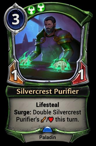Silvercrest Purifier card