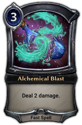 Alchemical Blast card