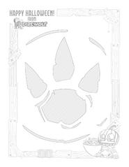 Pumpkin Stencil - Primal Sigil
