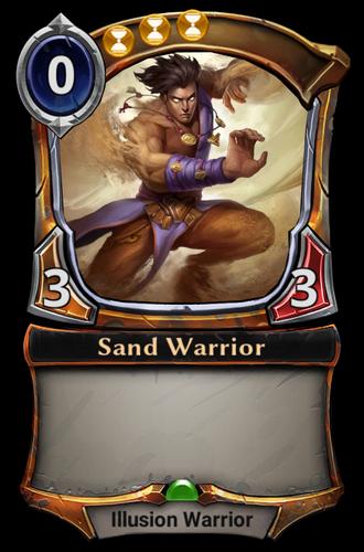 Sand Warrior card