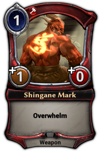Shingane Mark card