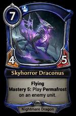 Skyhorror Draconus