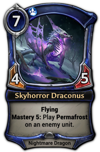 Skyhorror Draconus card