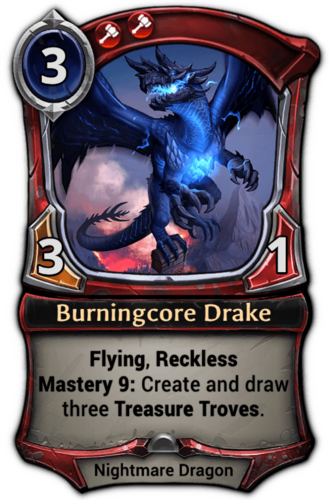 Burningcore Drake card