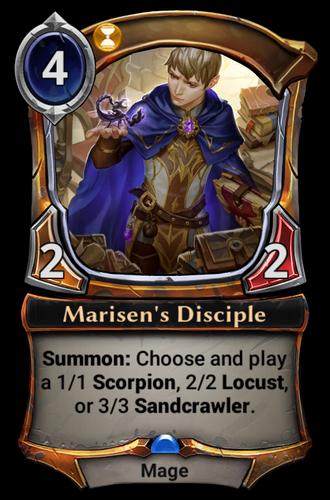 Marisen's Disciple card