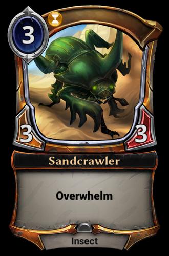 Sandcrawler card