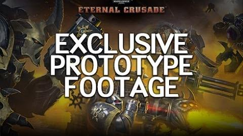 Warhammer 40K Eternal Crusade - Prototype Footage-0