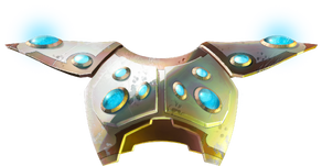 Eldar Ancestral Heavy Aspect Armour Trim