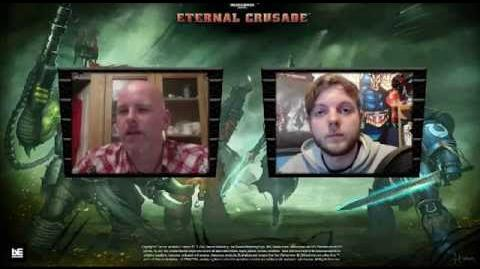 Cosmicengine interviews Graham Mcneill, co-writer of Eternal Crusade.
