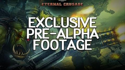 Warhammer 40K Eternal Crusade - Exclusive Pre Alpha Gameplay Footage