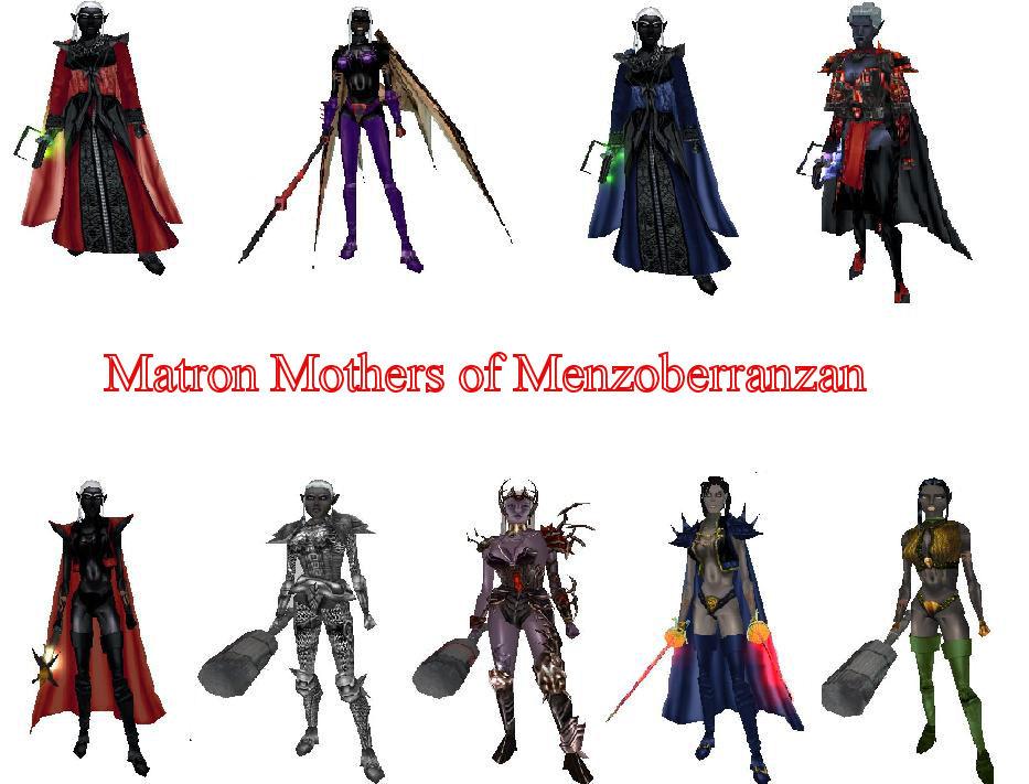 Drow Matrons of Eternal Destiny | Eternal Destiny Wiki
