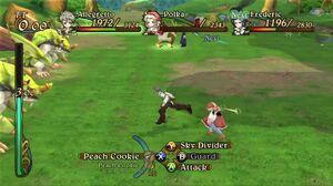 Allegretto, Frederic and Polka Battling Earth Shakers and Angel Goat