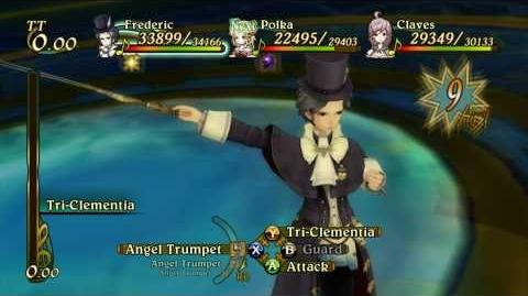 Eternal Sonata - Frederic Special Moves HD