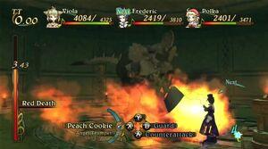 Killer Knight Using Red Death