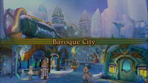 Baroque City Intro Screen
