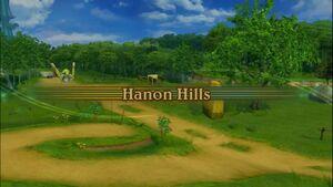 Hanon Hills Intro Screen