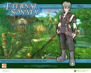 Eternal Sonata Promotional Wallpaper - Fugue