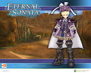 Eternal Sonata Promotional Wallpaper - Waltz