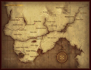 Eternal Sonata World Map