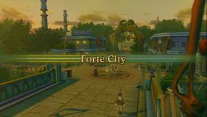 Forte City Intro Screen
