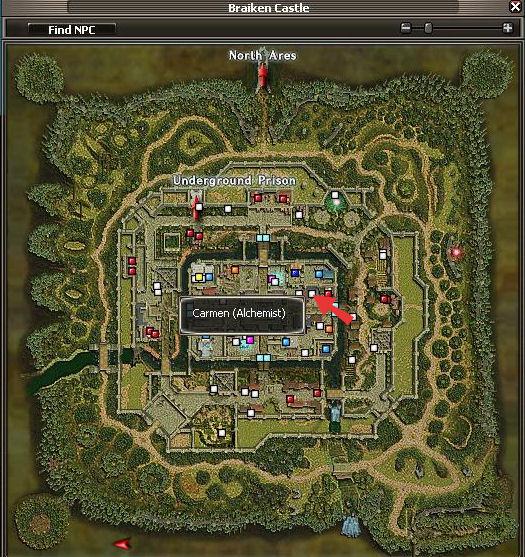 Carmen Map