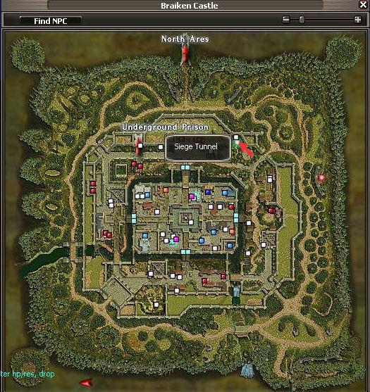 Siege Tunnel Map