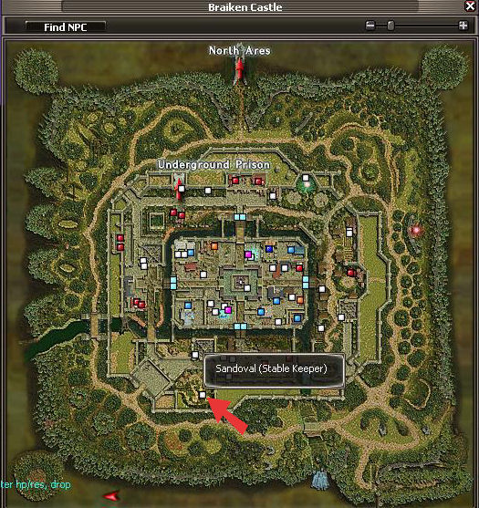 Sandoval Map