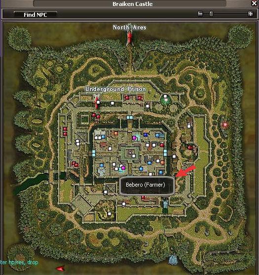 Bebero Map