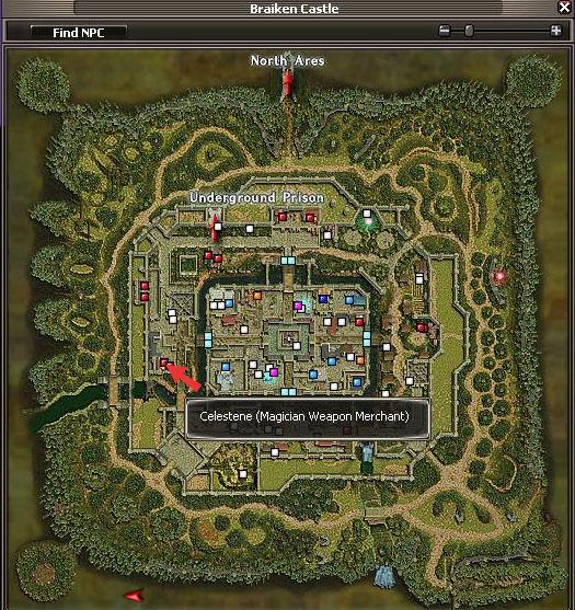 Celestene Map