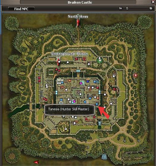 Tanesia Map