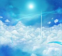 Sky castles by illunfar