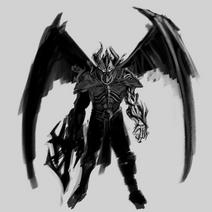 Demon-warrior-sketch