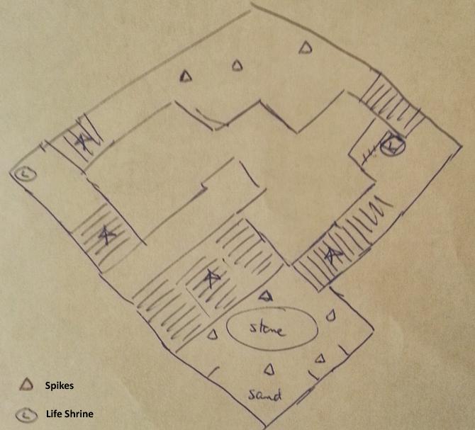 Forgotten Tombs map