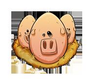 Pig-egg