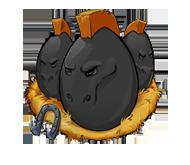 Horse-black-egg