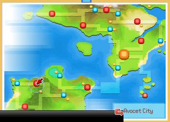 AvocetCitymap