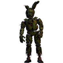 Springtrap villains wiki villains bad guys c by witheredbonnieitsme-d8odcub