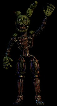 Filler 3rd anniversary springtrap by freddlefrooby-dbjdh8s
