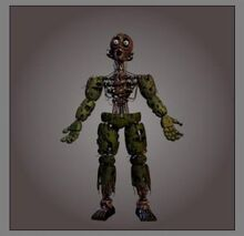 Springtrap corpse close up by nicholas1405-dadbadj