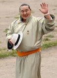 Japan-Mongol wrestler