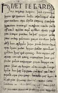 Beowulf firstpage