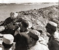 Abdel Nasser with Troops