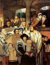 240px-Gottlieb-Jews Praying in the Synagogue on Yom Kippur