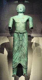 Yemen bronze man