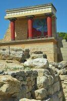 Minoan ruin in Crete