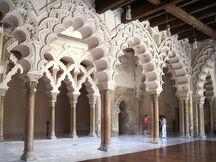 Muslim palace interior