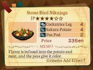 Stratum 4. Stone Bird Nikujaga