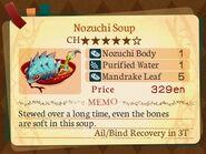 Stratum 5. Nozuchi Soup