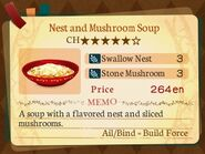 Stratum 5. Nest and Mushroom Soup