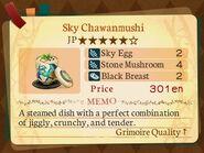 Stratum 5. Sky Chawanmushi